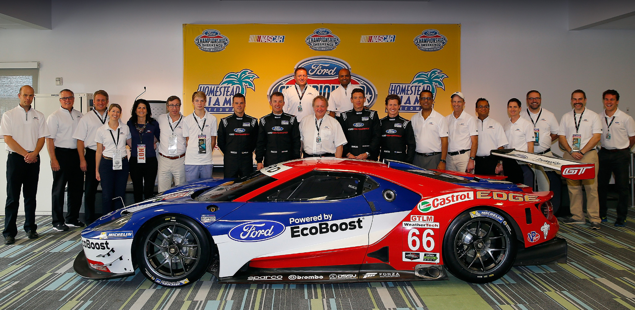 """With Ford Chip Ganassi Racing return to Le Mans and back in the """"IMSA WeatherTech Sportscar Championship""""."""