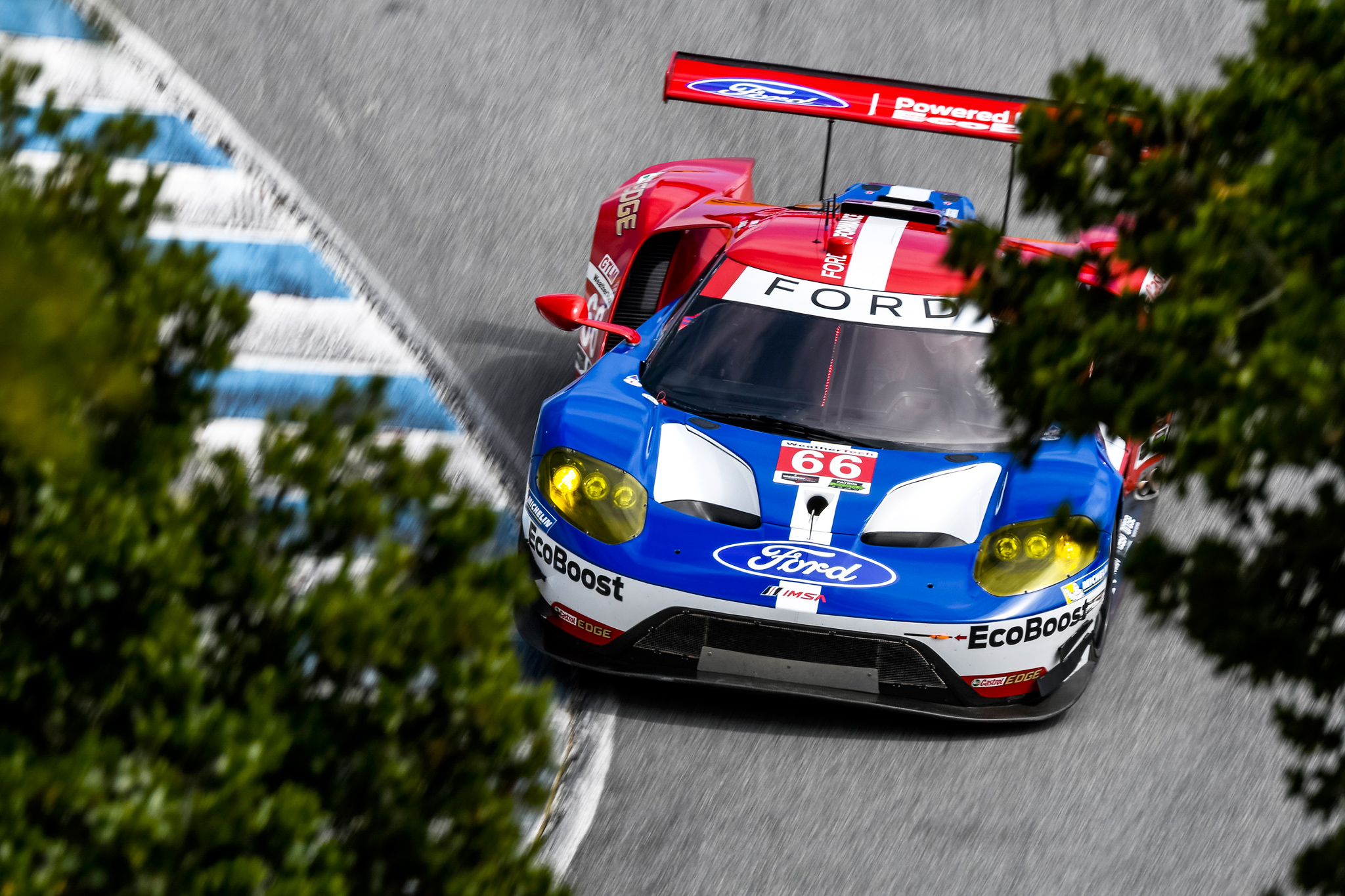 Of the knots has burst – pleasing result in Laguna Seca.