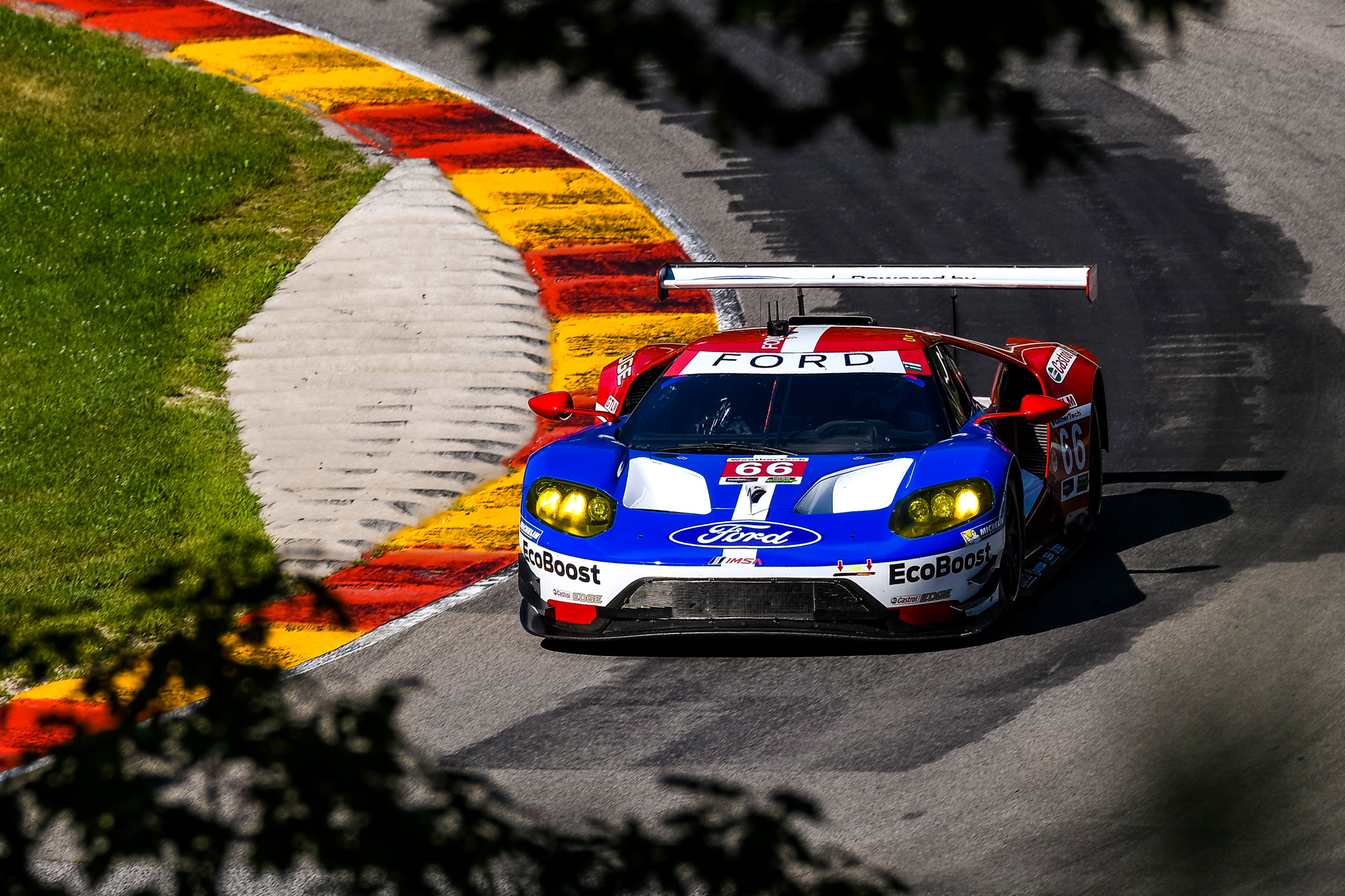 Good performance with pole position unrewarded in Road America
