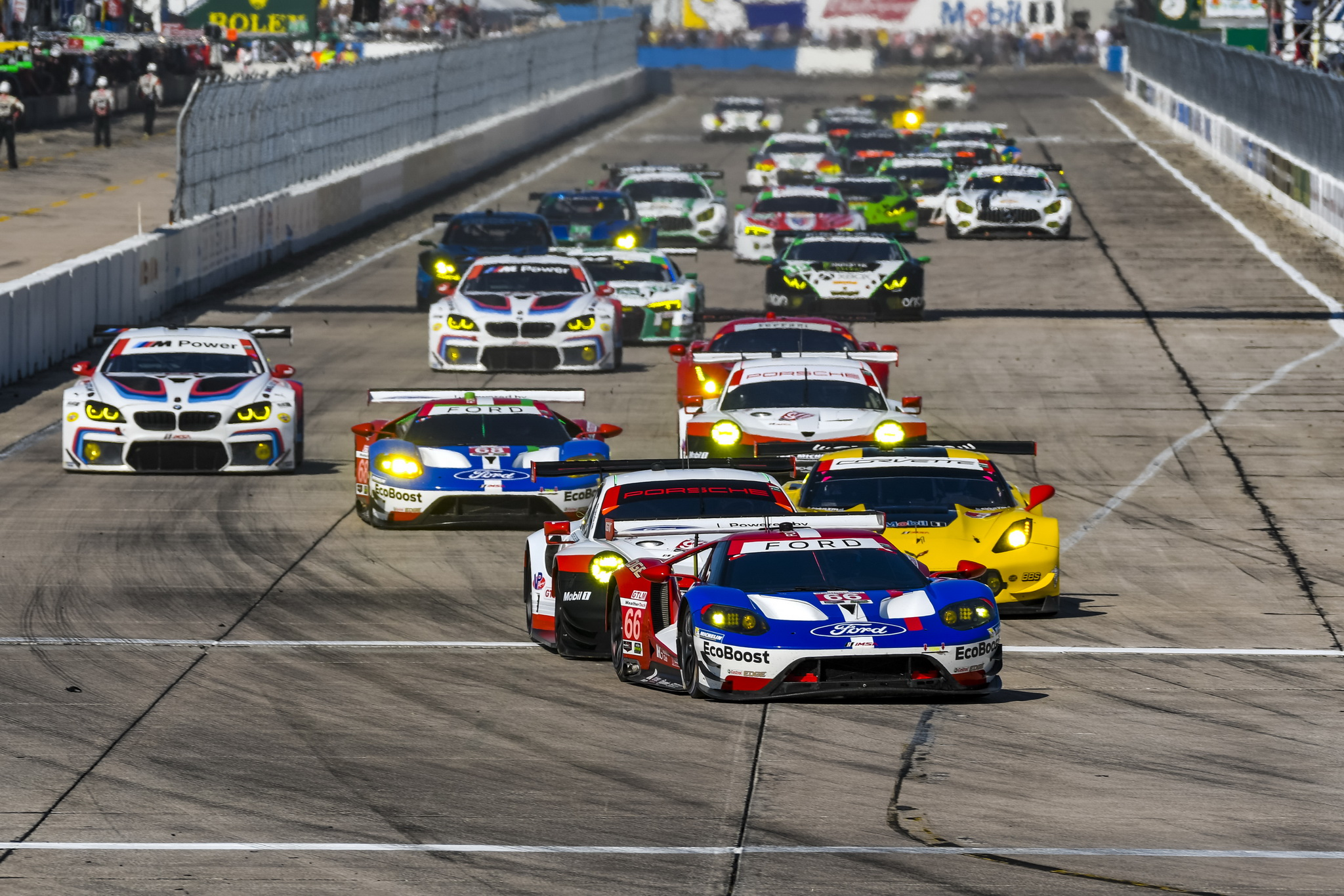 Runner-up result for the No. 66 at the 12 Hours of Sebring