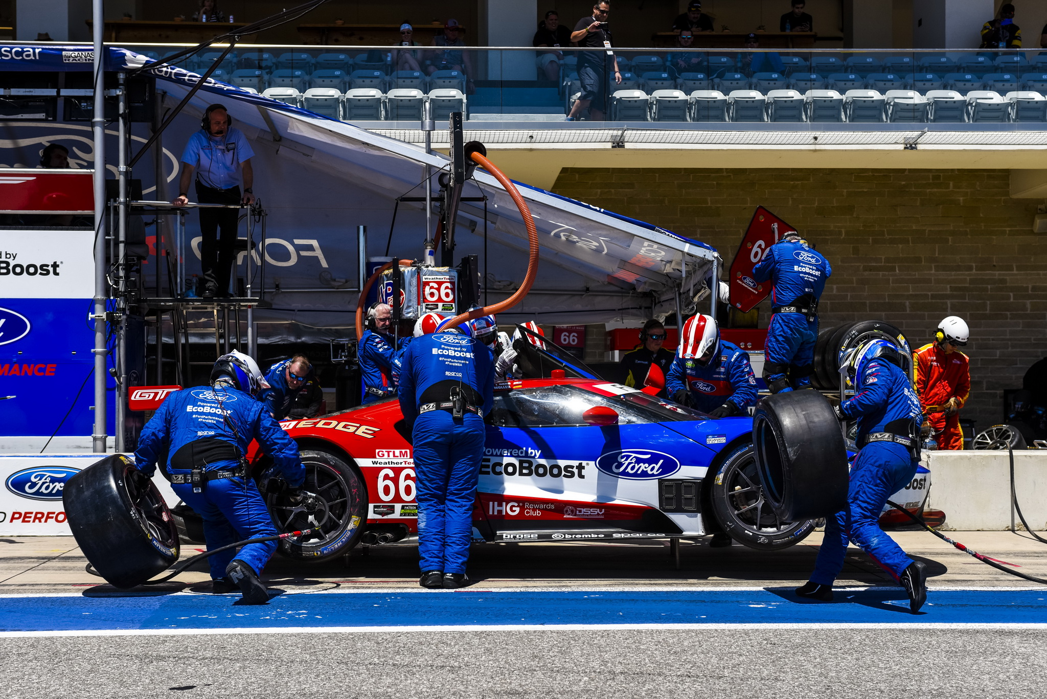 Ford Chip Ganassi Racing Makes Best of Demanding Race at Circuit of the Americas