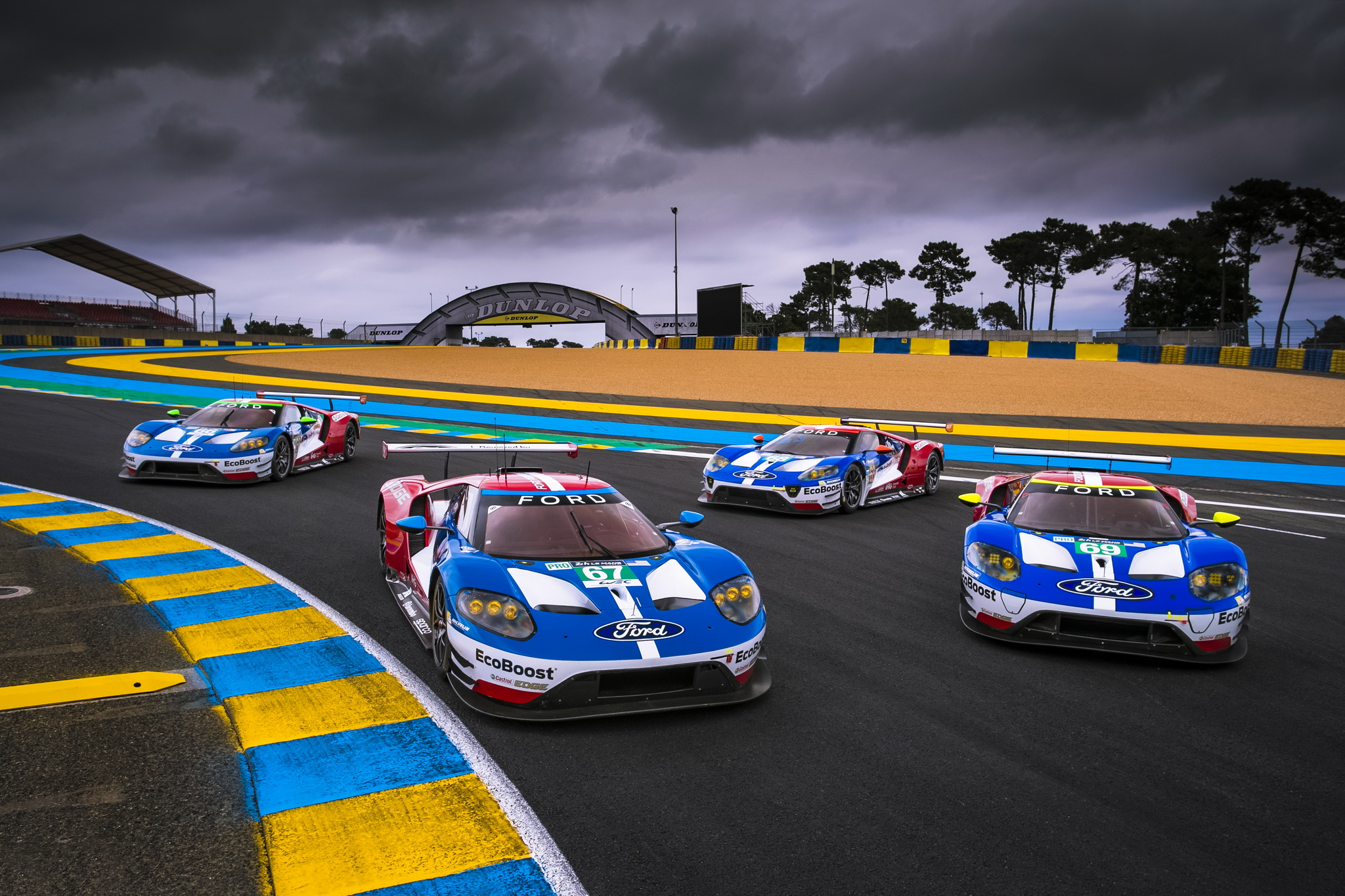 ford chip ganassi racing prepares to defend le mans 24