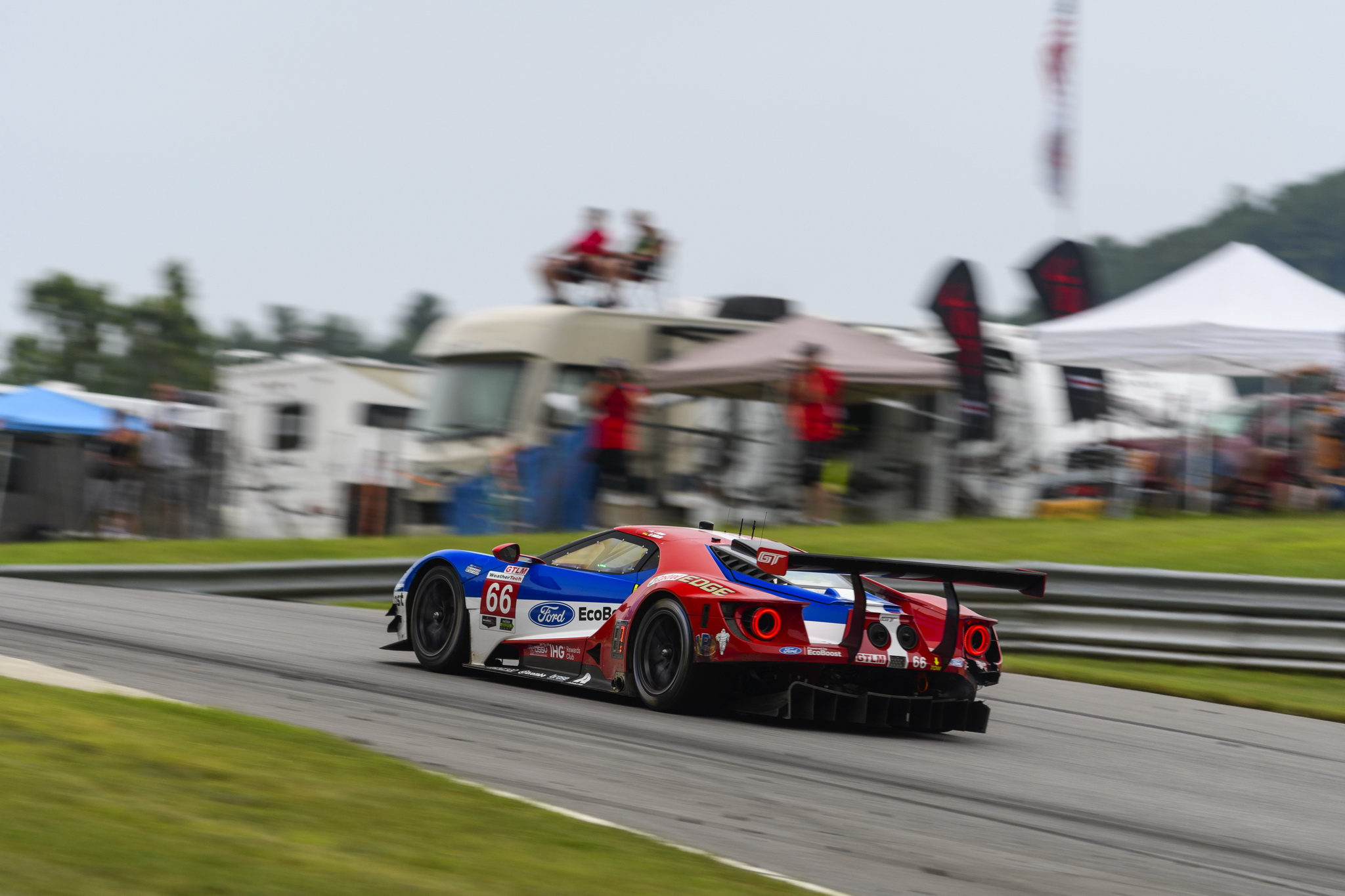 Ford Chip Ganassi Racing Makes Most Of Fuel Economy Of Ford Gt As Team Finishes P