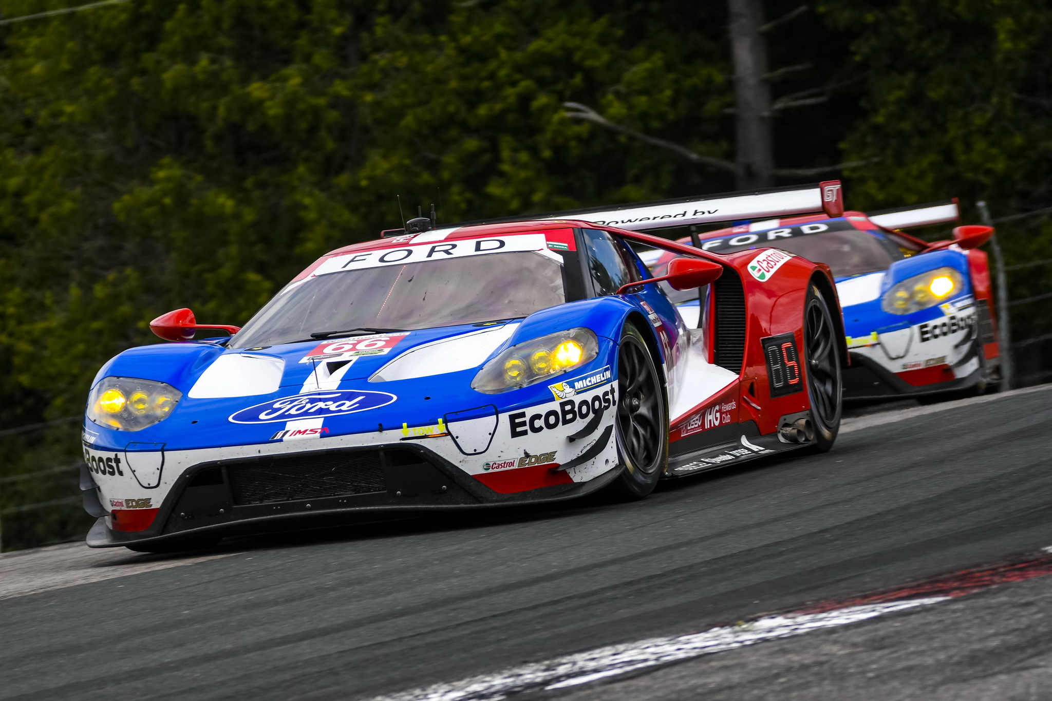 Ford Chip Ganassi Racing Prepared for All-GT Class Race at Connecticut's Lime Rock Park