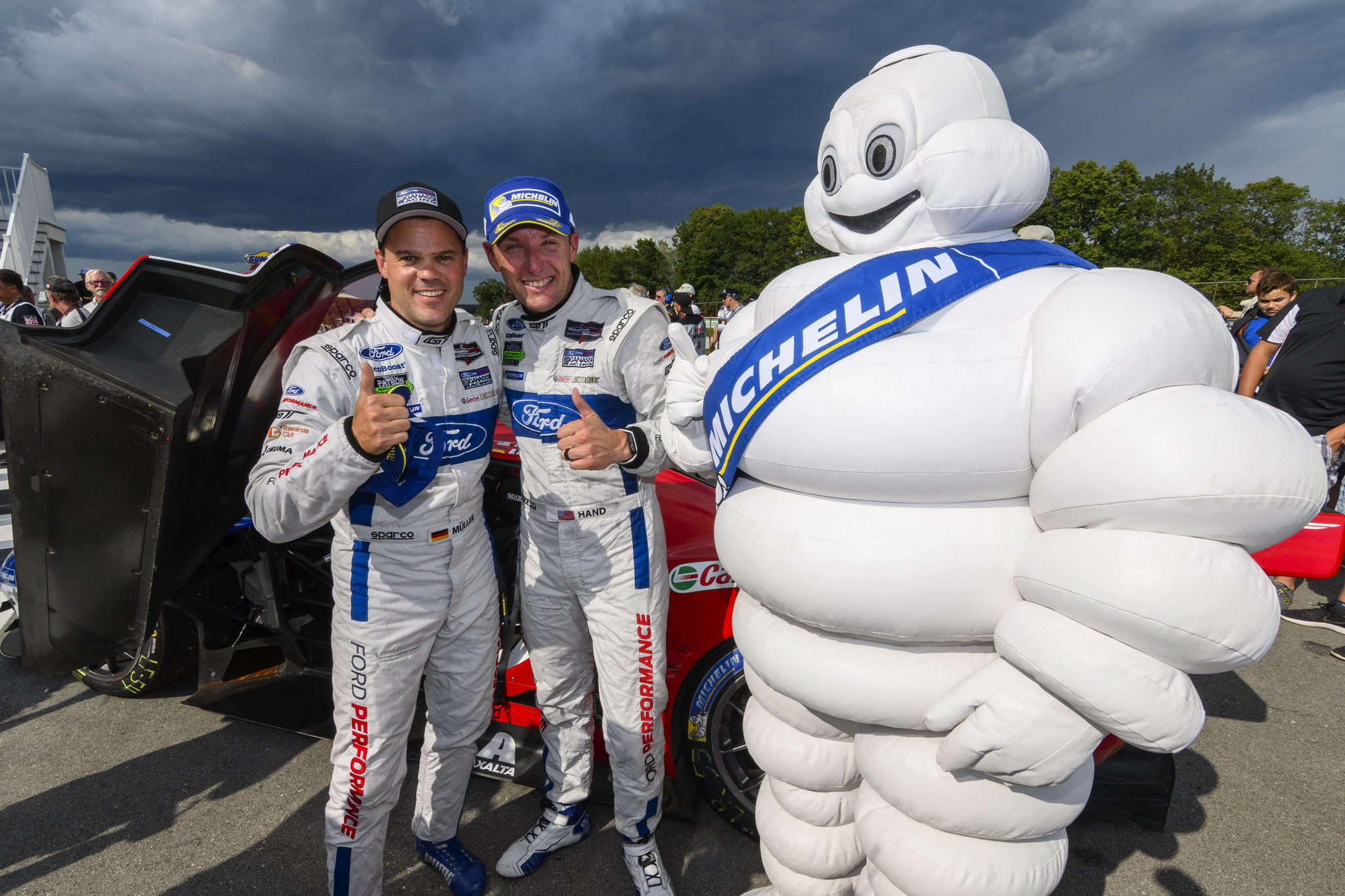 Win Boosts Championship Potential for Ford Chip Ganassi Racing as Series Heads to VIR