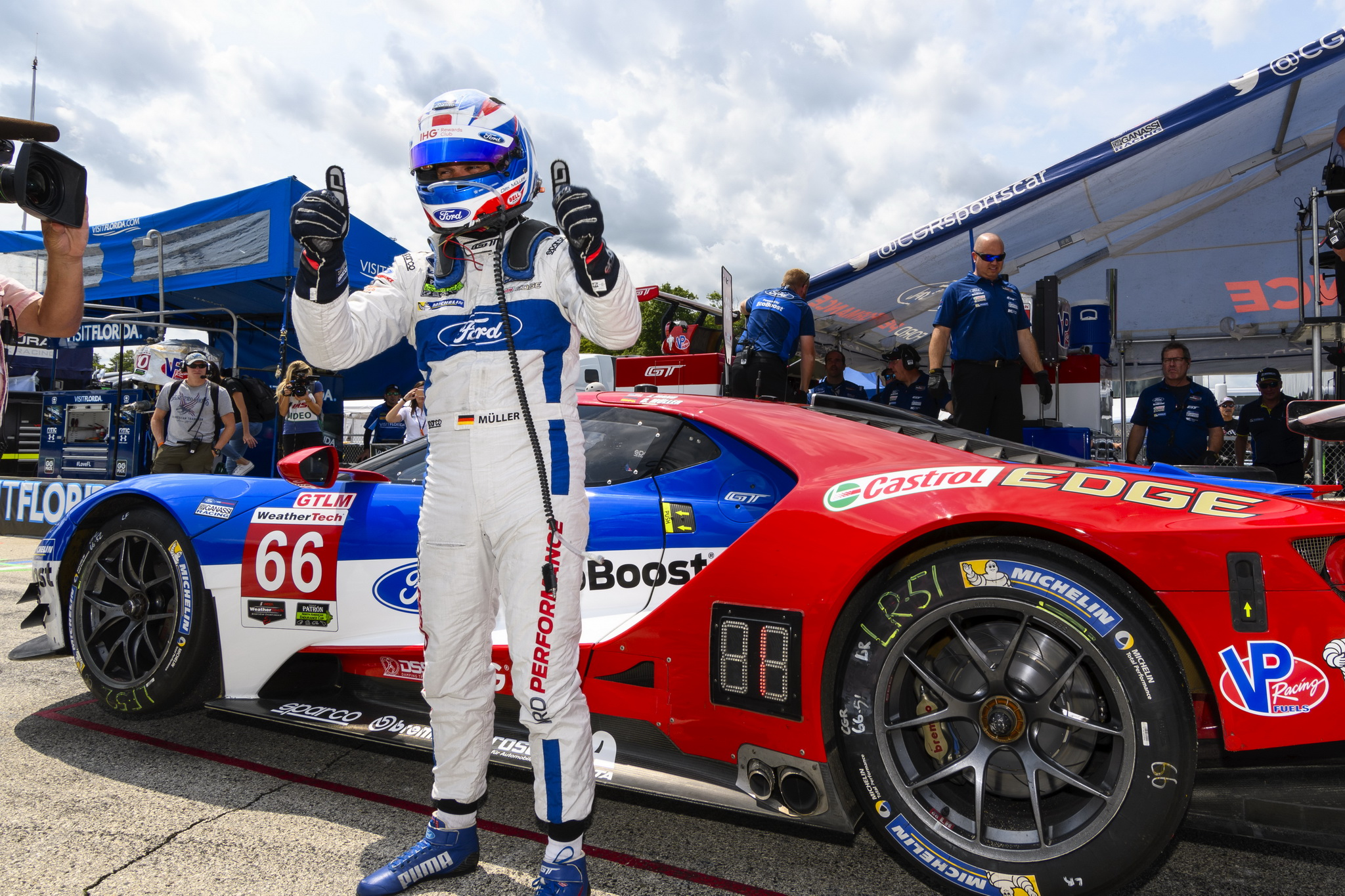 Ford Chip Ganassi Racing to Start p1-2 at Road America
