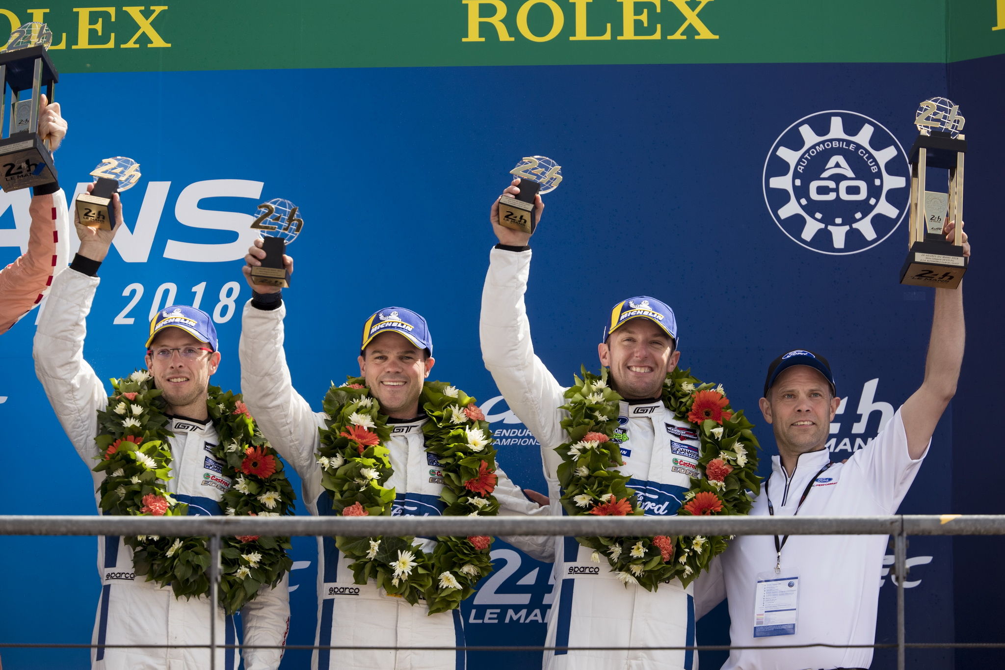 Ford Takes Third Straight Podium at Le Mans 24 Hours