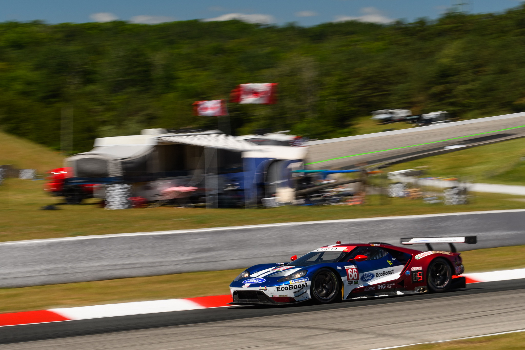 Ford Chip Ganassi Racing Earns Second Win In A Row As Richard Westbrook, Ryan Briscoe Drive to Victory Lane at CTMP