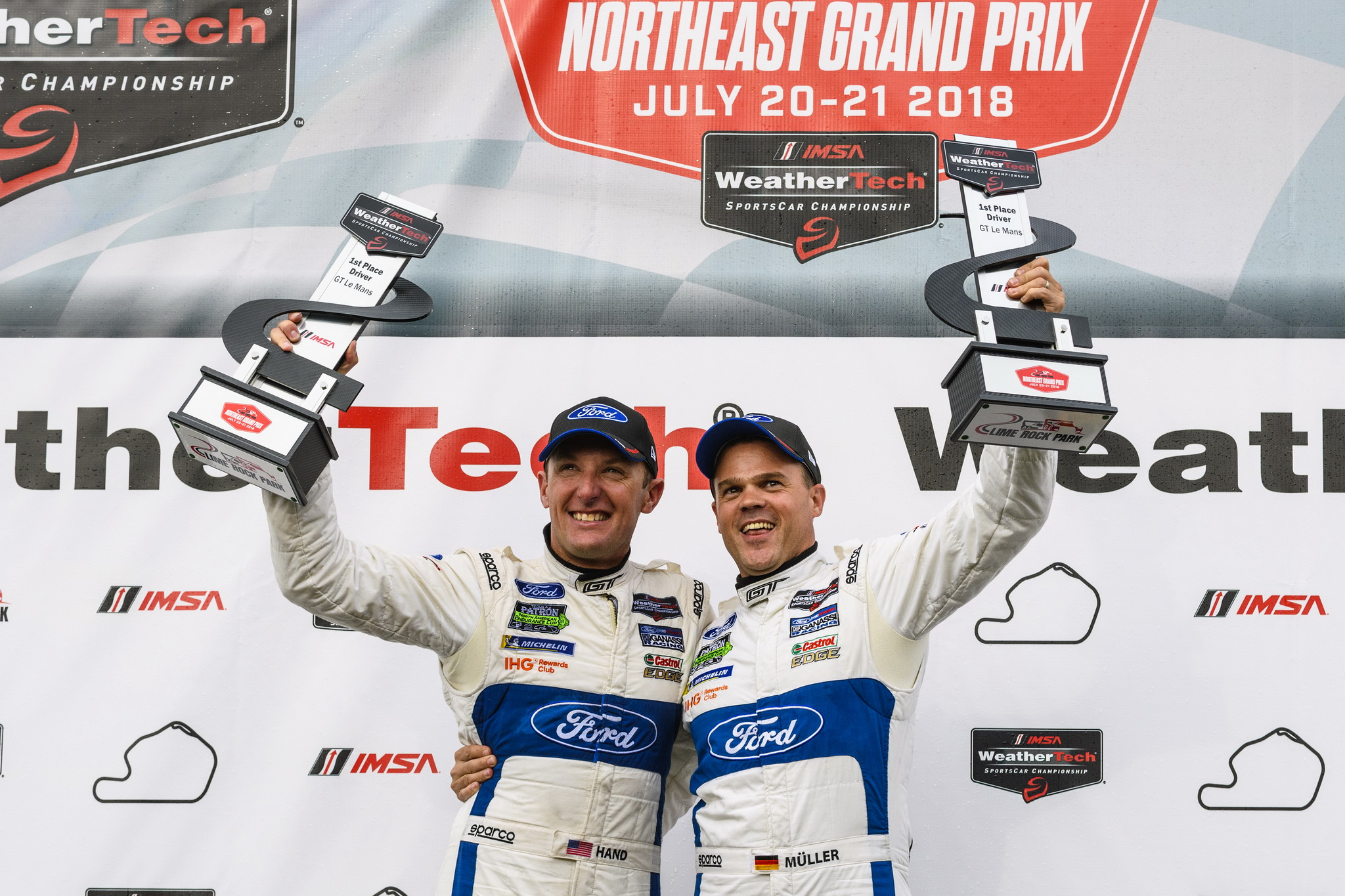Three In a Row: Ford Chip Ganassi Racing Takes Come-From-Behind Victory in IMSA Northeast Grand Prix