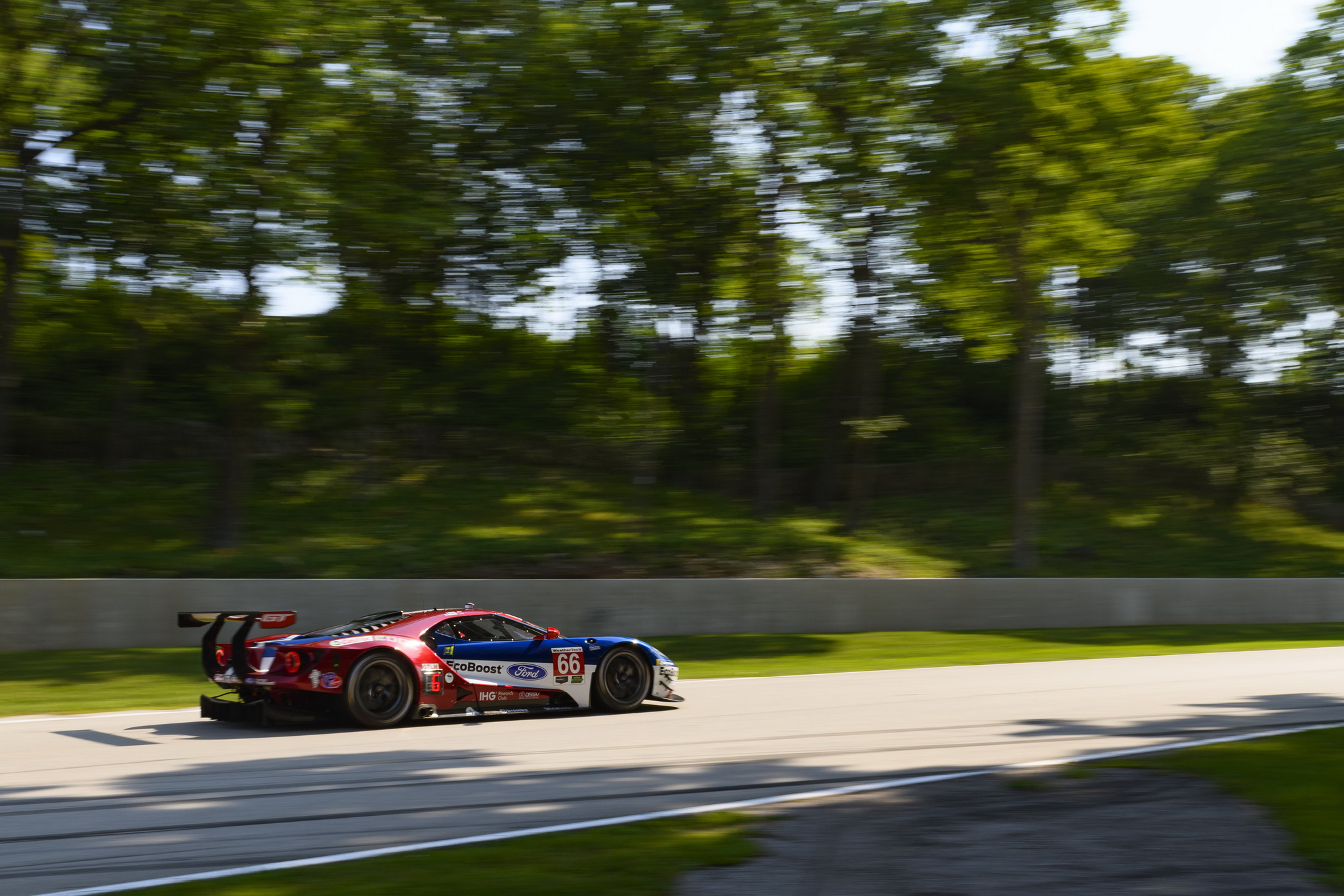 Ford Chip Ganassi Racing Looks to Keep Winning Streak Alive at VIR