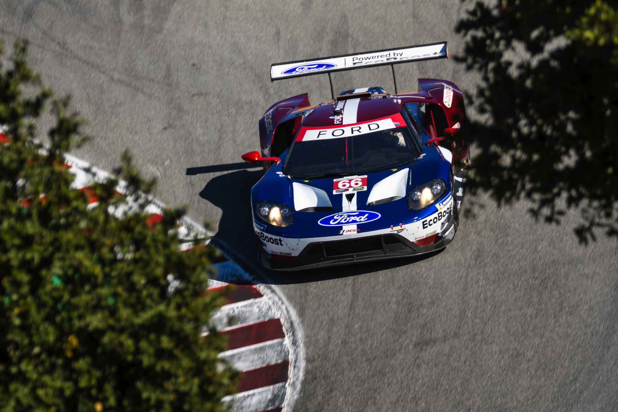 Ford Chip Ganassi Racing Just Misses Pole at Laguna Seca, Will Start Second and Fourth