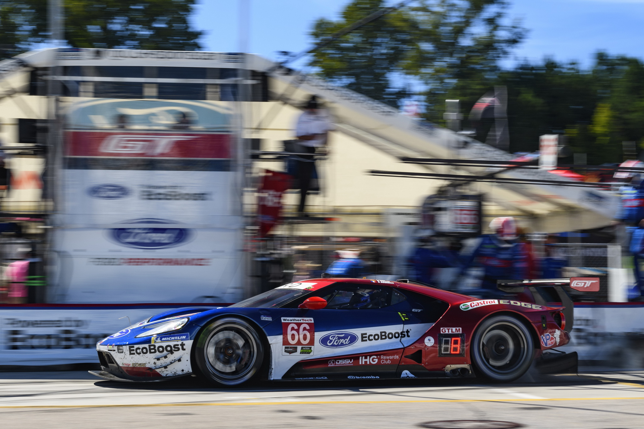 Ford Earns IMSA WeatherTech Manufacturer's Championship Title at 2018 Season Finale