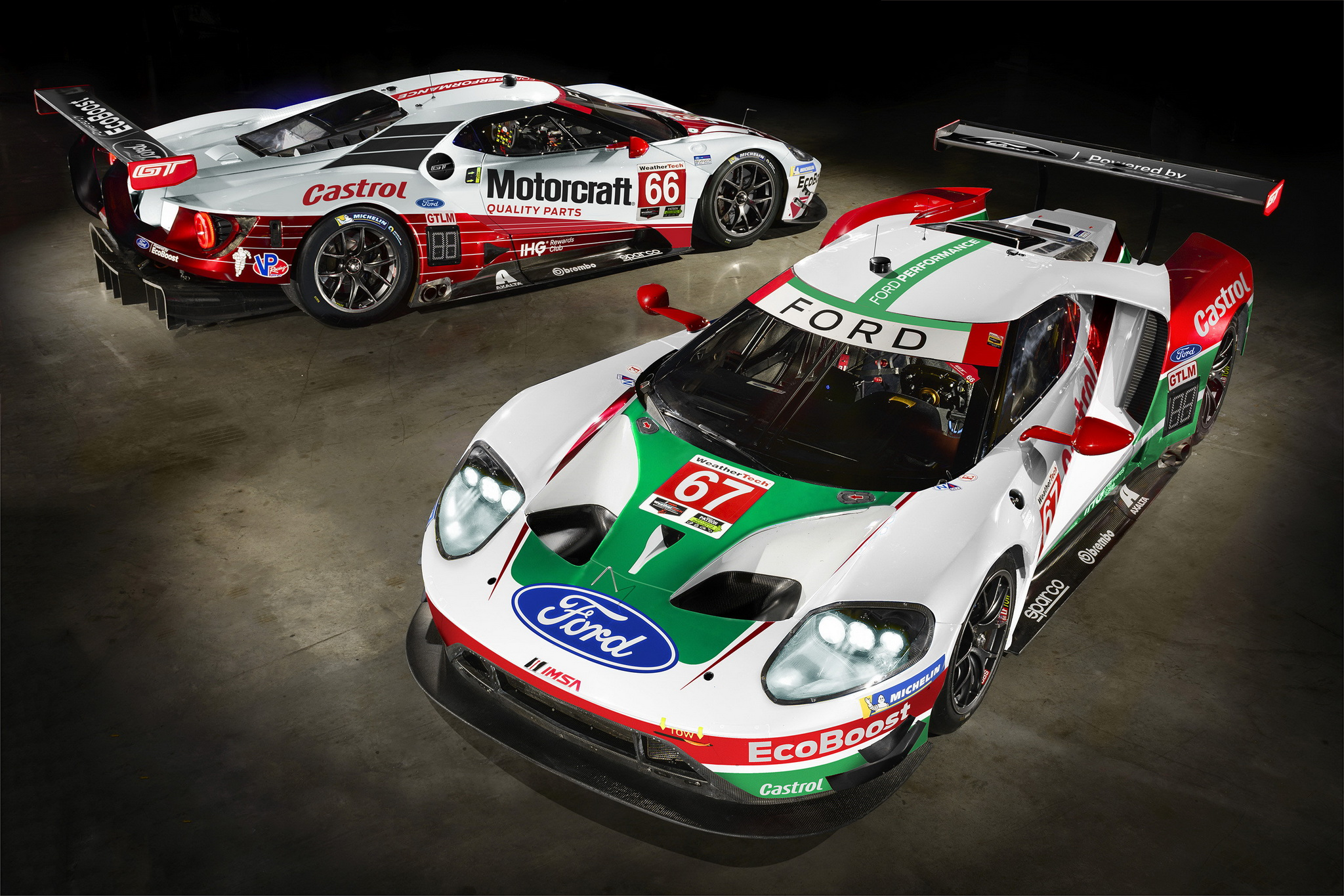 Ford Performance, Ford Chip Ganassi Racing Unveil Special Historic Liveries for Rolex 24 At Daytona