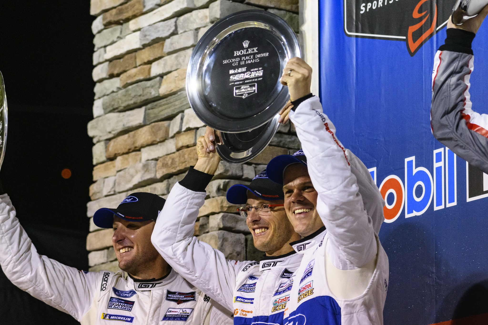 Ford Chip Ganassi Racing Ford GTs Finish Second, Sixth After Leading 11 of the 12 Hours of Sebring