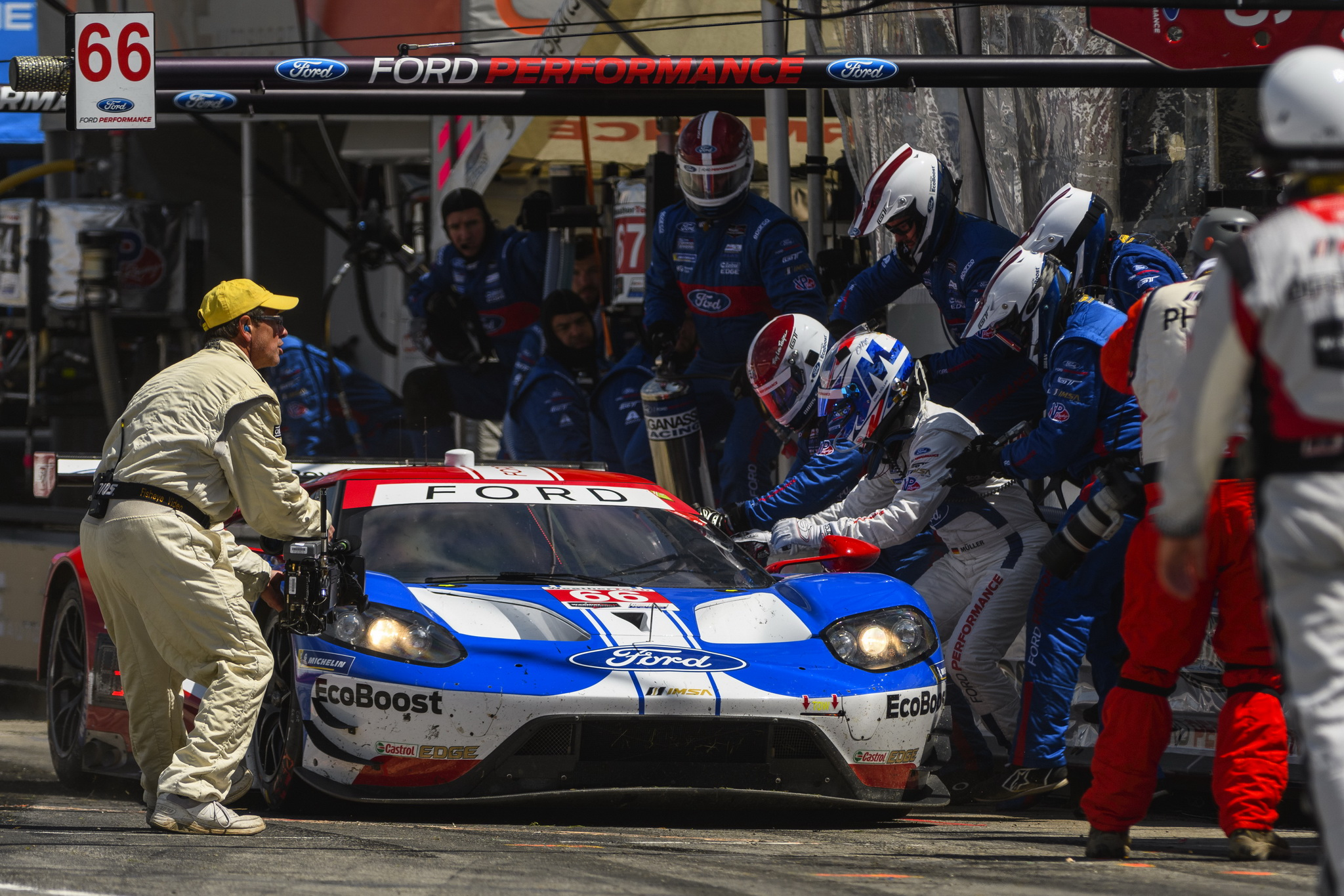 Challenging Conditions, Interclass Contact Leads to Disappointing Finish for Ford Chip Ganassi Racing
