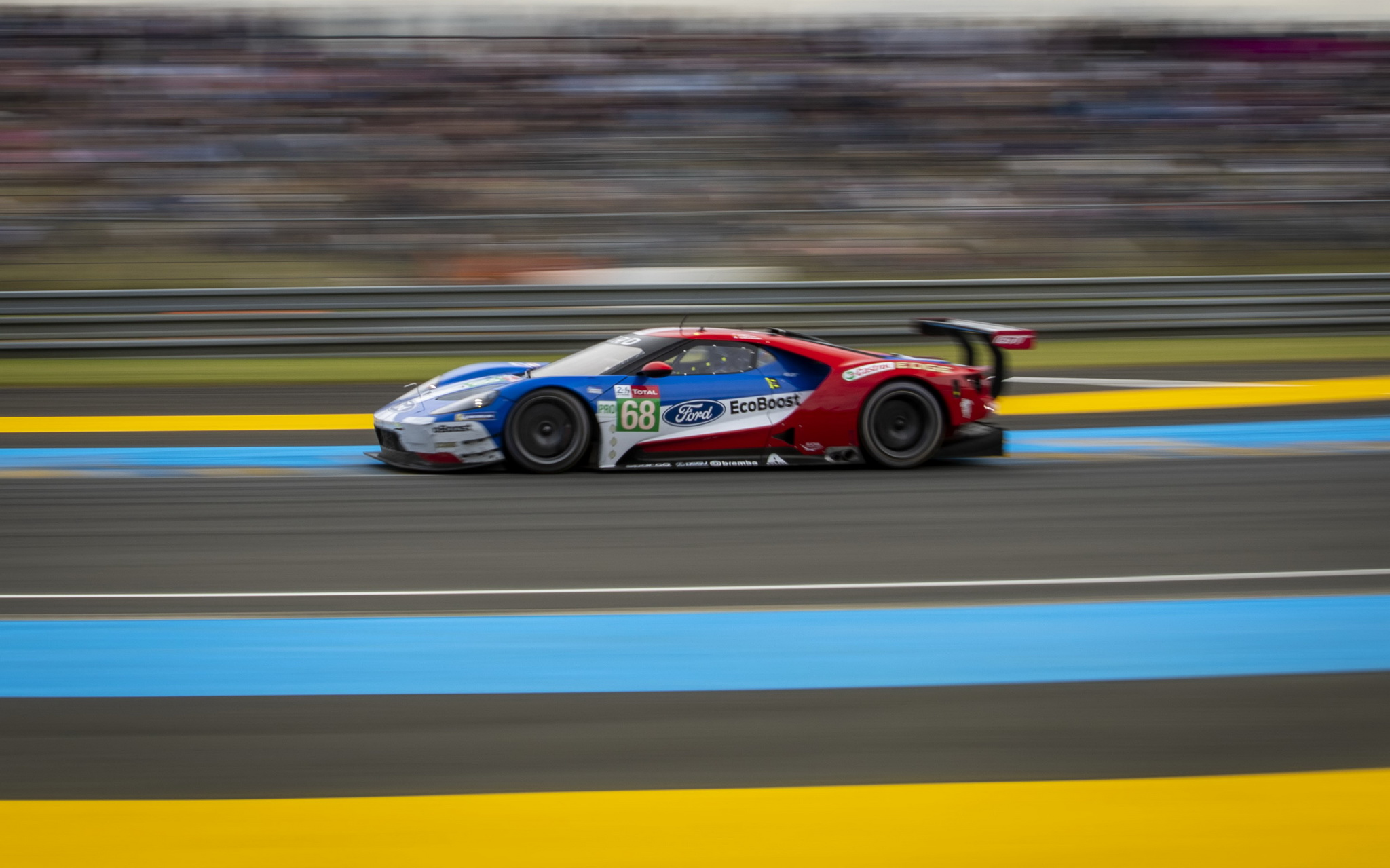 Ford Chip Ganassi Racing Fights To Fourth Through Seventh Place Finishes in GTE Pro; Helps Keating Motorsports To Le Mans Victory in GTE Am