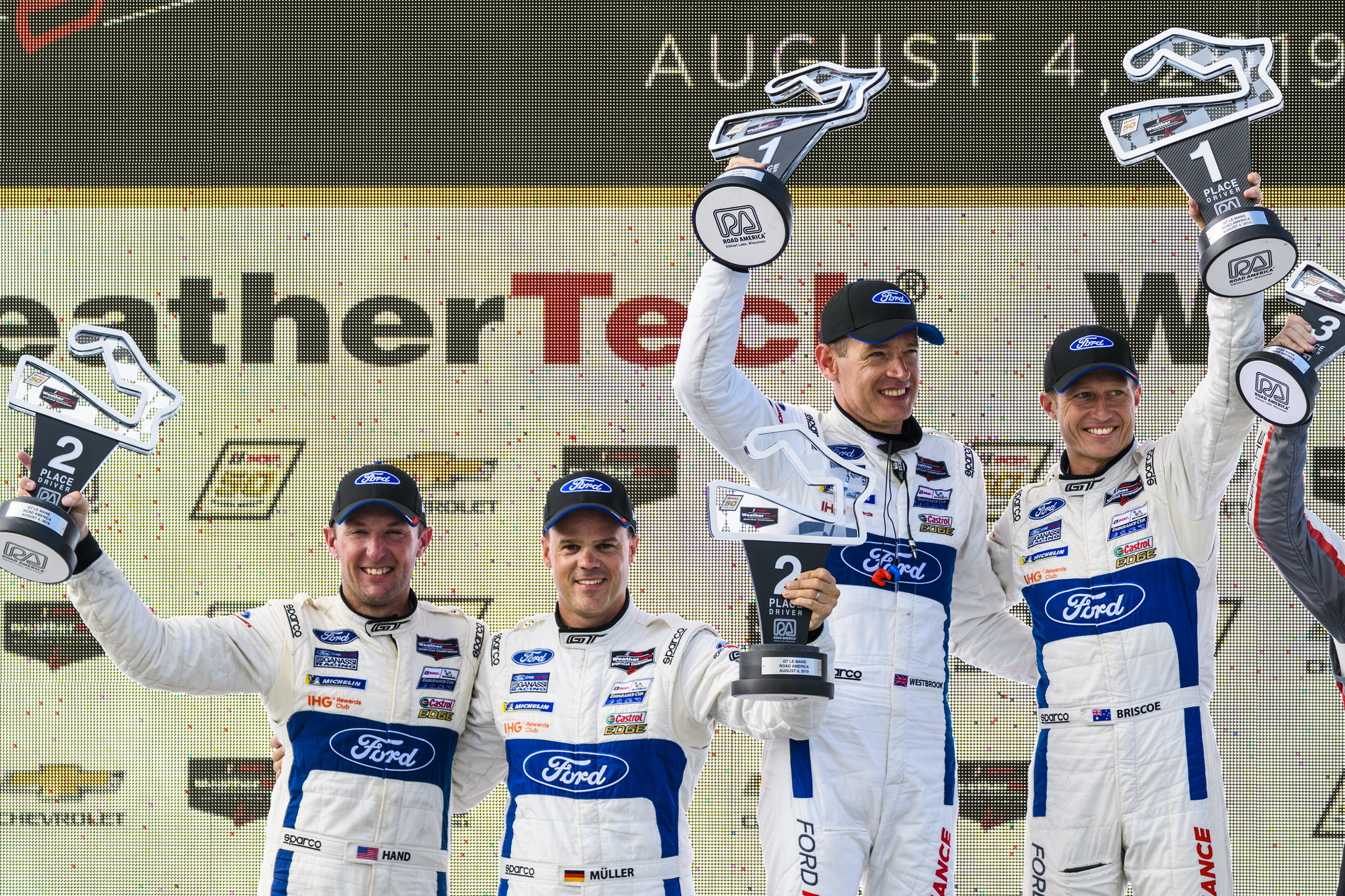 Ford Chip Ganassi Racing Finishes 1-2 at Road America