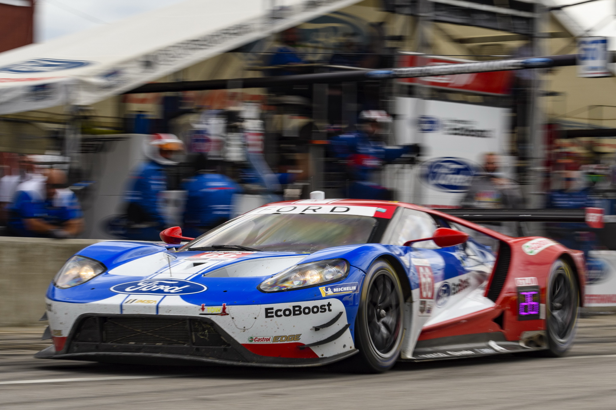 Win Streak Cut Short for Ford Chip Ganassi Racing with Fifth & Sixth Place Finish at Virginia International Raceway