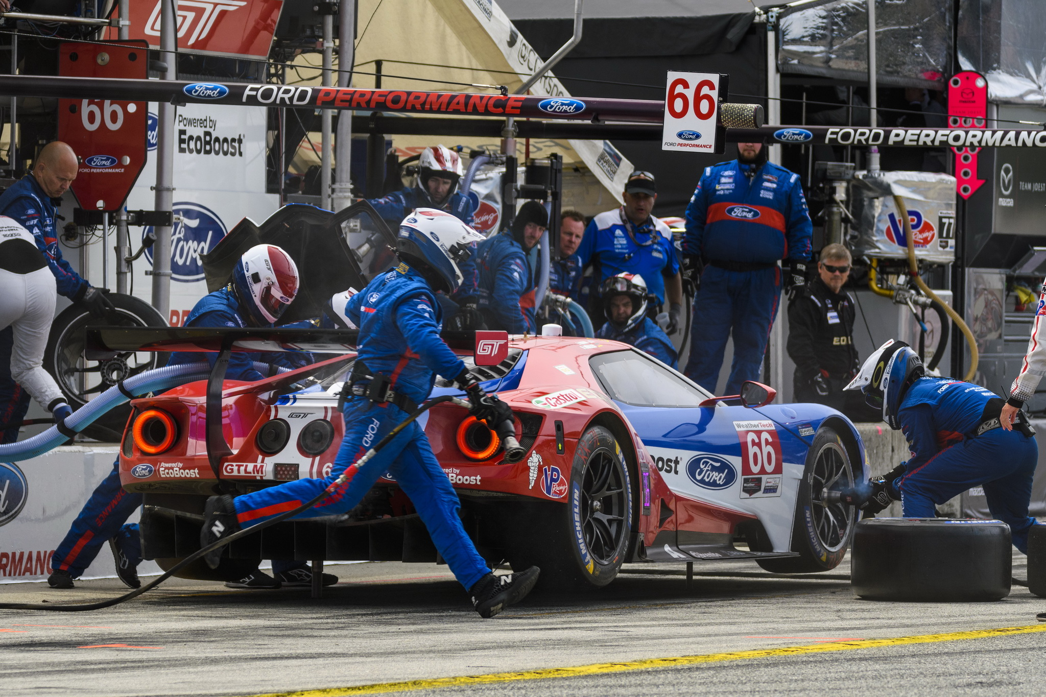 Ten-Hour Petit Le Mans Brings Ford Chip Ganassi Racing Factory Ford GT Program to a Close