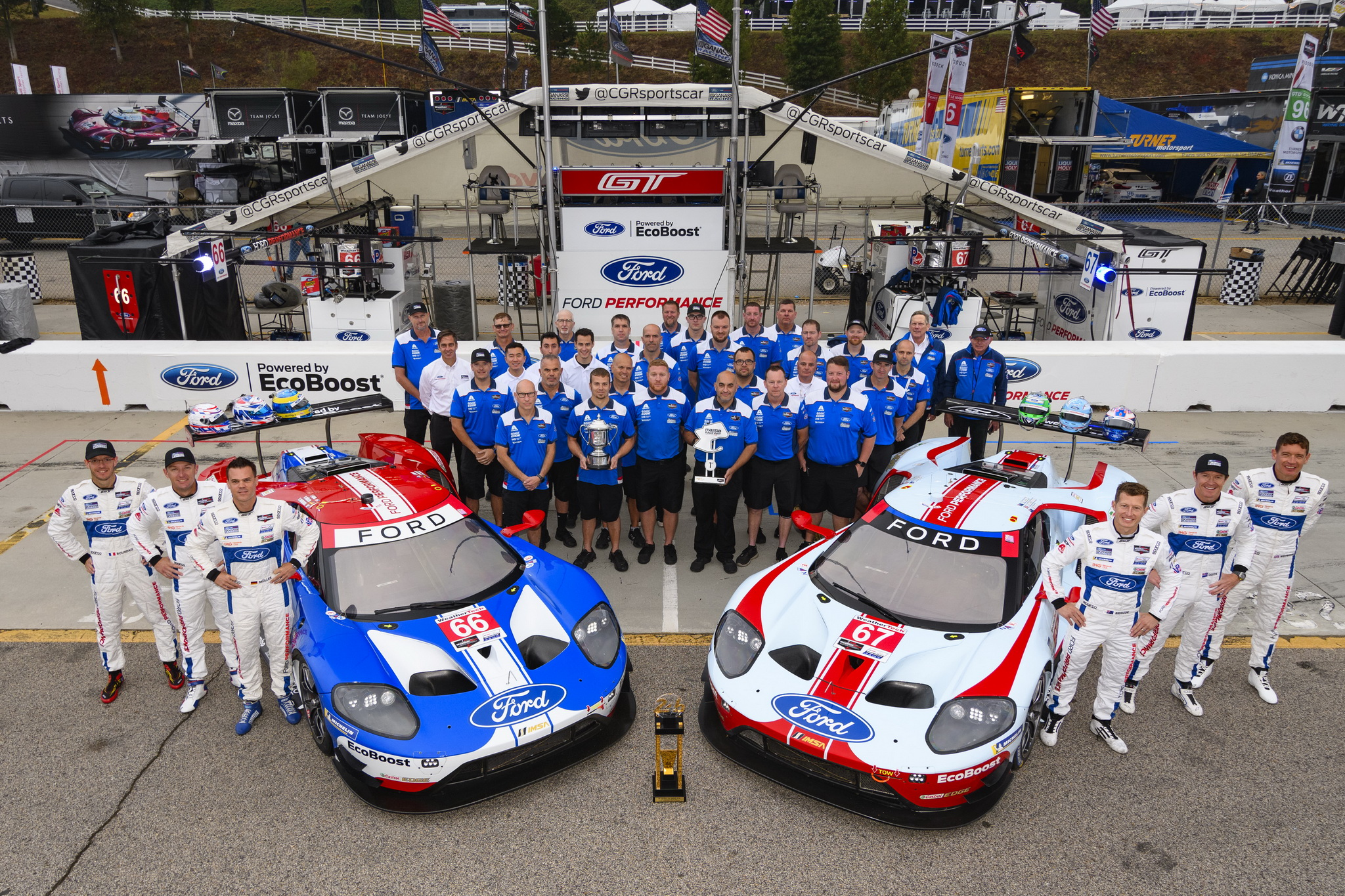 Ford Chip Ganassi Racing Earns One Final Podium for Ford GT at Petit Le Mans